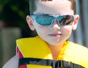 Emily's Swim School - Water Safety - Boy with Life Jacket